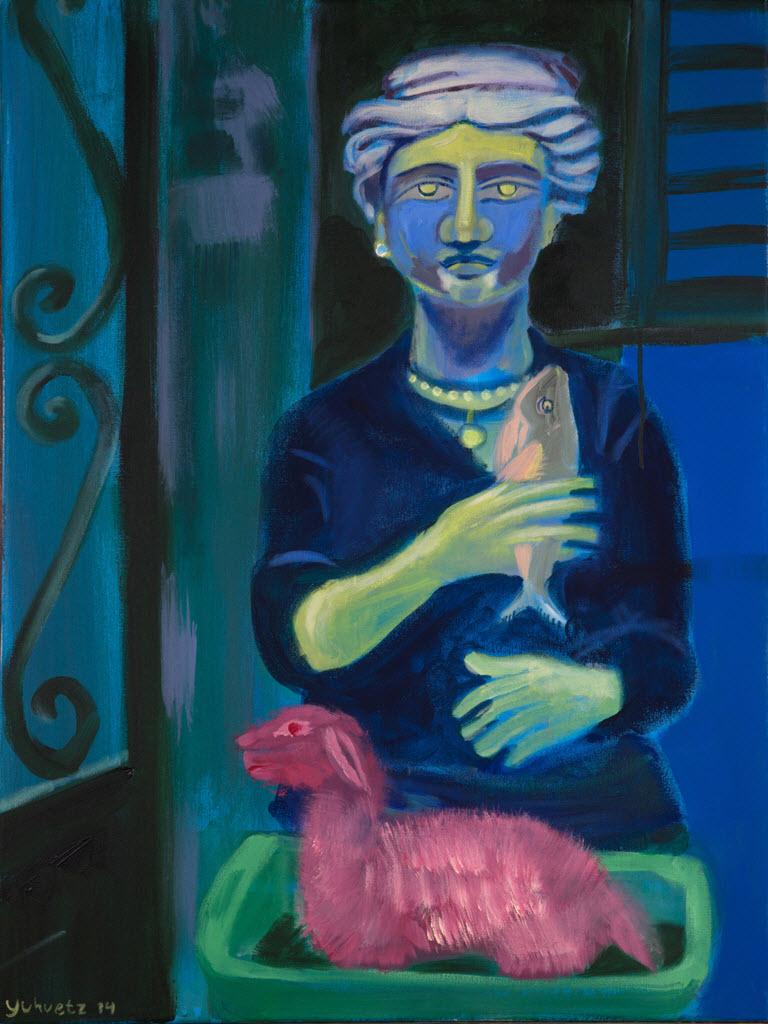 Goddess| Acrylic on canvas / 60x80cm / 2014