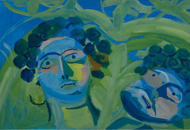 Acrylic on Paper / 48x33 cm/ 2014