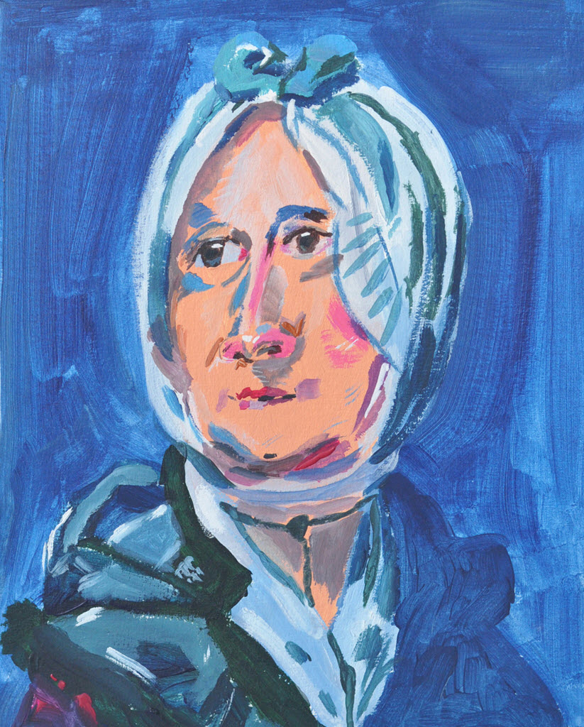 Old Masters Portraits   Acrylic on Paper / 24x29 cm / 2014