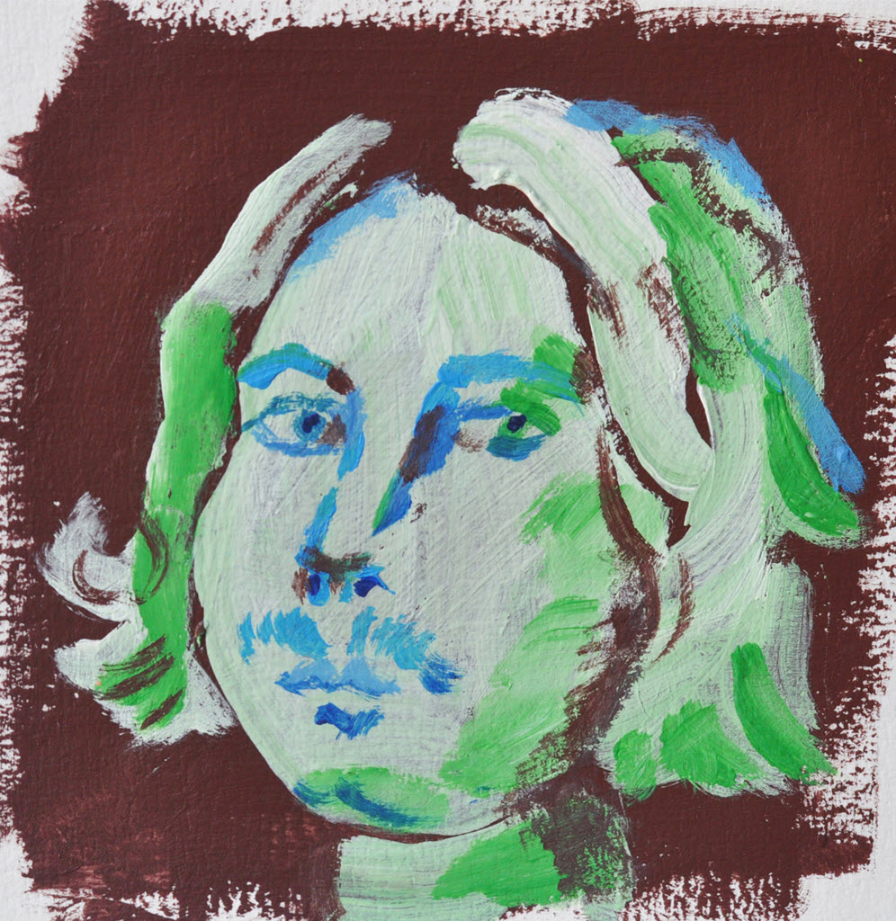 Old Masters Portraits   Acrylic on Paper / 13x13 cm / 2014