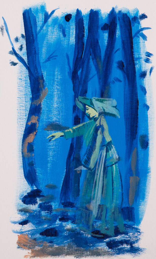 Old Masters | Acrylic on Paper / 16x29 cm/ 2014