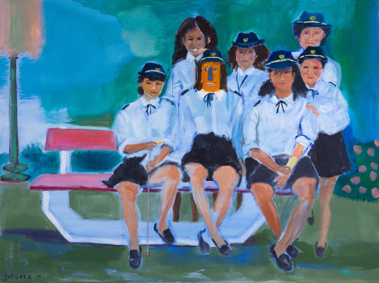 Play Together   Acrylic on canvas / 80x60cm / 2014