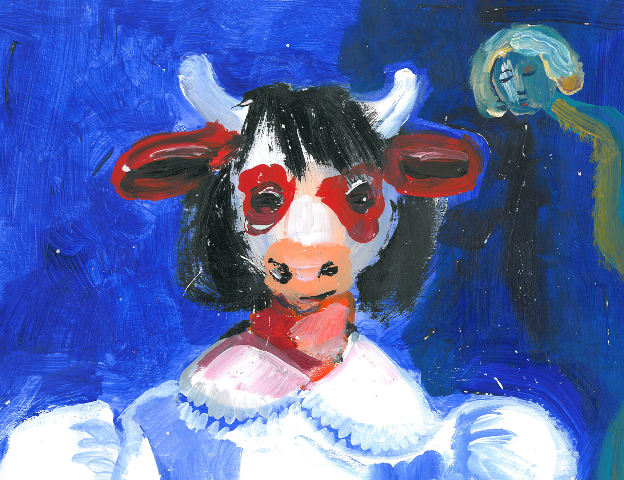 Eve   Acrylic on Paper / 33x22 cm / 2015